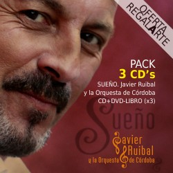 Sueño JAVIER RUIBAL Pack 3 CD