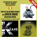 JAVIER KRAHE Pack 3 CD's 2016