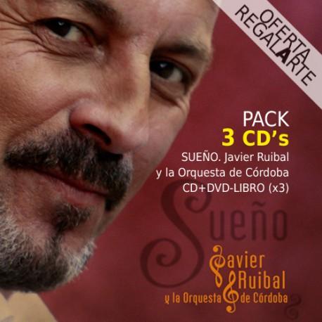 Sueño JAVIER RUIBAL Pack 3 CD